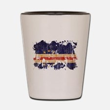 Cape Verde Flag Shot Glass