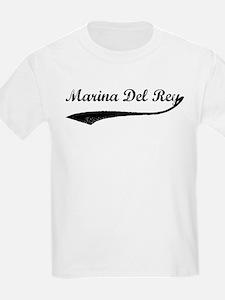 Marina Del Rey - Vintage Kids T-Shirt