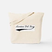 Marina Del Rey - Vintage Tote Bag