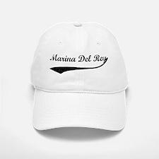 Marina Del Rey - Vintage Baseball Baseball Cap
