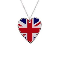 British Flag Union Jack Necklace