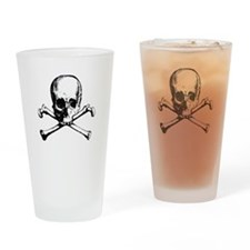 Skull And Crossbone Drinking Glass