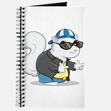 Cool White Squirrel Journal