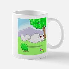 Running White Squirrel Mug