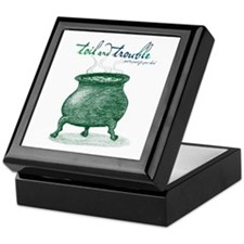 Toil and Trouble Keepsake Box