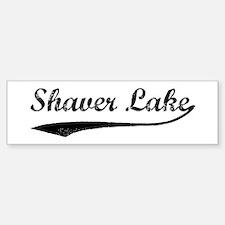 Shaver Lake - Vintage Bumper Bumper Bumper Sticker