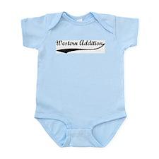 Western Addition - Vintage Infant Creeper