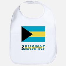 Bahamas Flag & Name Bib
