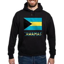 Bahamas Flag & Name Hoodie