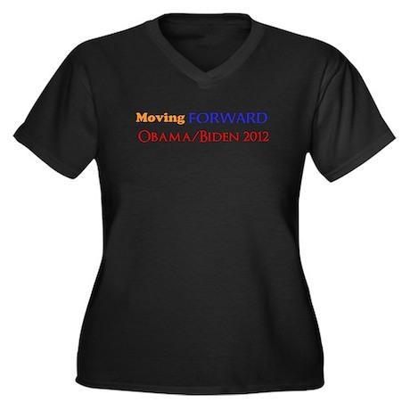 moving forward obama biden 2012 Women's Plus Size