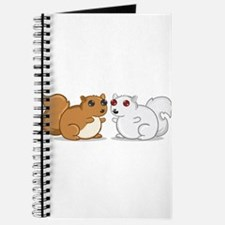 White Squirrel - Brown Squirrel Journal