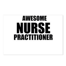 Awesome nurse practitioner Postcards (Package of 8