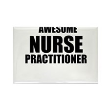 Awesome nurse practitioner Rectangle Magnet (10 pa