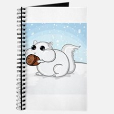 Squirrel With Nut Journal