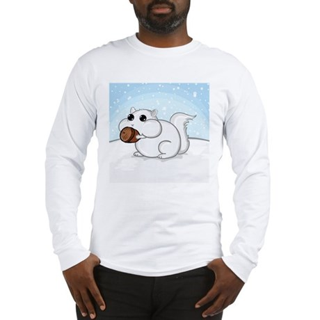 Squirrel With Nut Long Sleeve T-Shirt