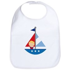 Sailboat Future Sailor Bib