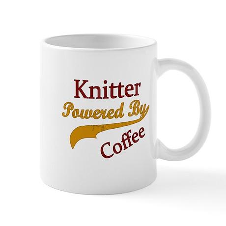 Knitter Powered By Coffee Mugs