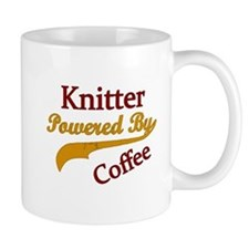 Knitter Powered By Coffee Mugs