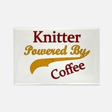 Cute Knitting Rectangle Magnet (100 pack)