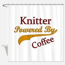 Unique Knitter Shower Curtain