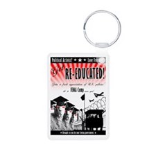 Re-Education Camp Ad Keychains