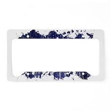 El Salvador Flag License Plate Holder