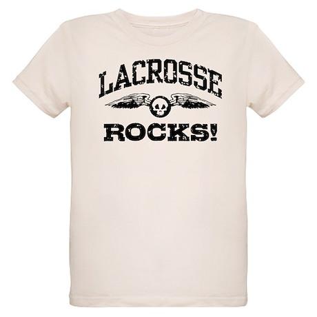 Lacrosse Rocks Organic Kids T-Shirt