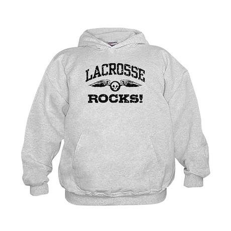 Lacrosse Rocks Kids Hoodie