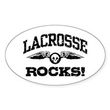 Lacrosse Rocks Decal