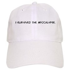 I survived the apocalypse Baseball Baseball Cap