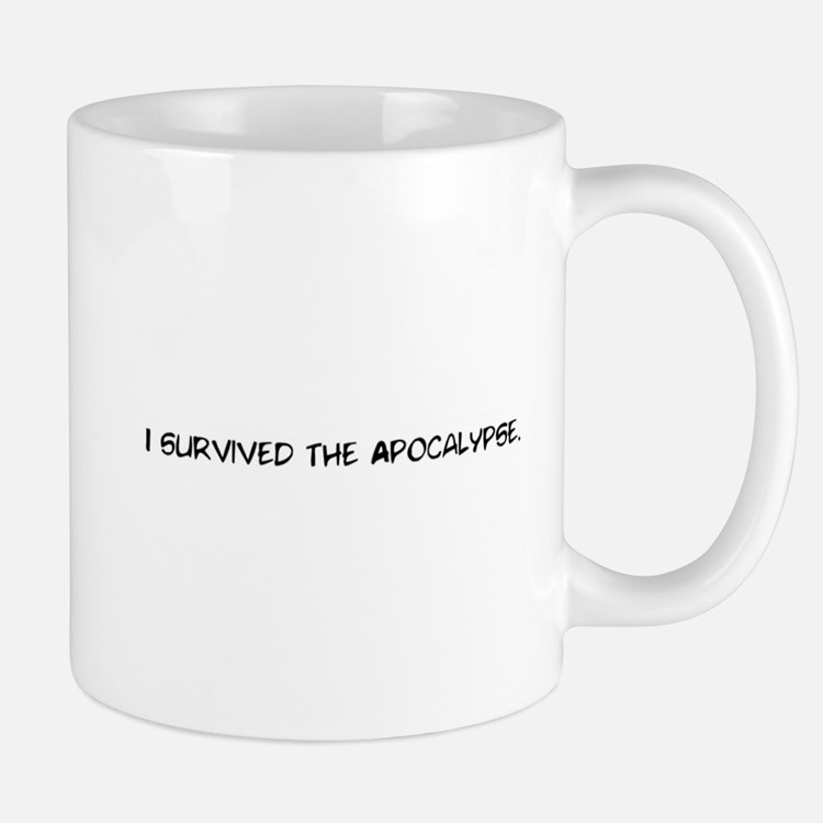 I survived the apocalypse Mug