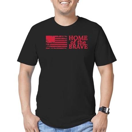 Home of the Brave MEN'S Fitted T-Shirt