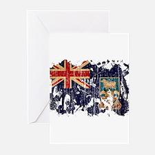Falkland Islands Flag Greeting Cards (Pk of 20)