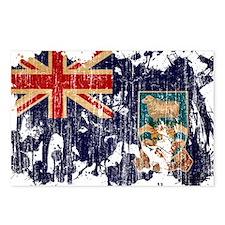 Falkland Islands Flag Postcards (Package of 8)