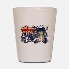 Falkland Islands Flag Shot Glass