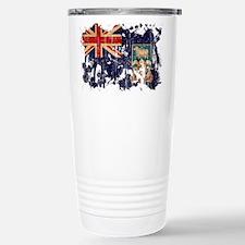 Falkland Islands Flag Travel Mug