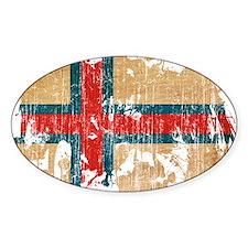 Faroe Islands Flag Decal