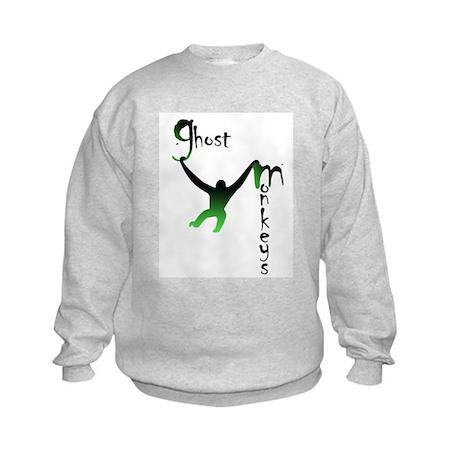 GMlogocrop.jpg Kids Sweatshirt