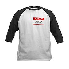 Fahad, Name Tag Sticker Tee