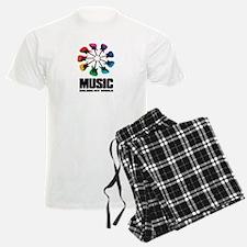 MUSIC COLORS MY WORLD Pajamas