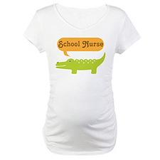 School Nurse Alligator Shirt