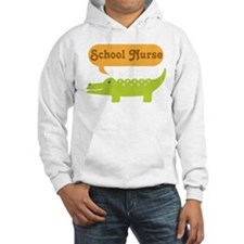 School Nurse Alligator Hoodie
