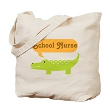 School Nurse Alligator Tote Bag