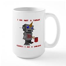 I am not a robot. Clearly, I am a unicorn. Mug