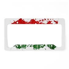 Ghana Flag License Plate Holder
