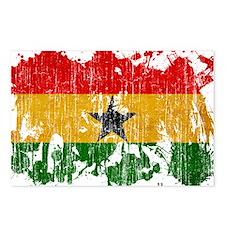 Ghana Flag Postcards (Package of 8)