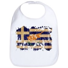 Greek Cyprus Flag Bib