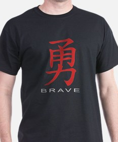 Chinese Symbol for Brave T-Shirt