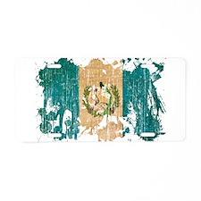 Guatemala Flag Aluminum License Plate