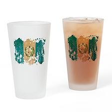 Guatemala Flag Drinking Glass